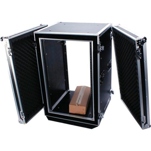 DeeJay LED Shock Mount Amplifier Rack (18U)