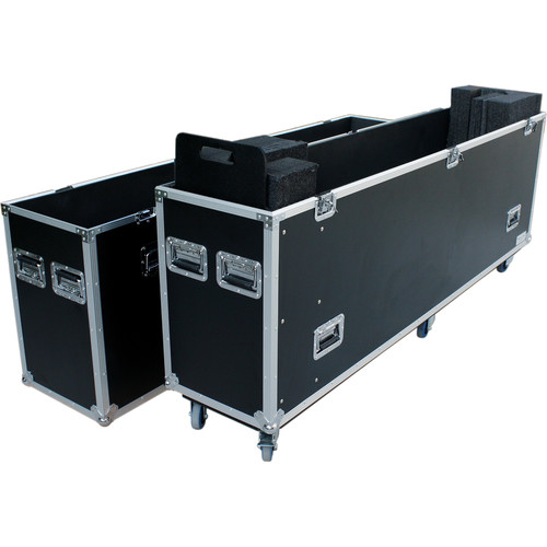 "DeeJay LED Wheeled Case for 80 to 90"" LED TV"