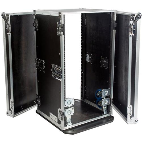 DeeJay LED 20 RU Amplifier Rack Case with Wheels