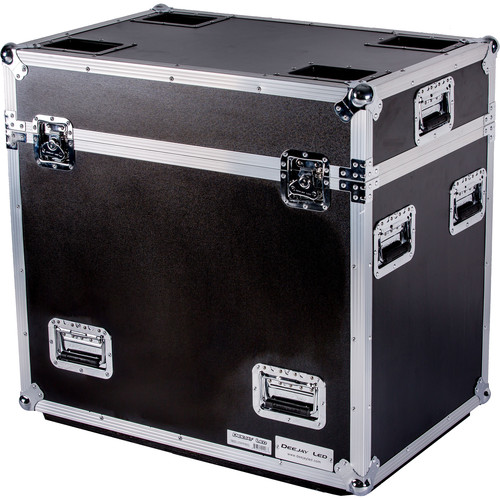 DeeJay LED 2X Lighting Road Case for Two Elation Lights
