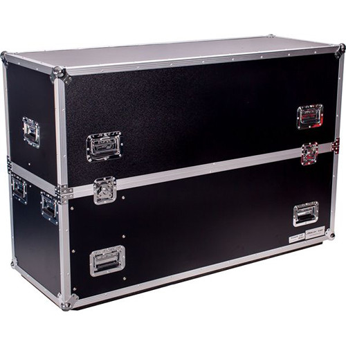 "DeeJay LED Road Case for Two 50"" LED TVs"