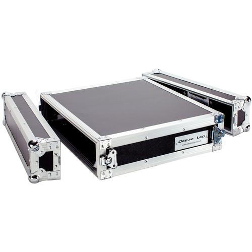 """DeeJay LED 2 RU Amplifier Deluxe Case (18"""" Deep)"""