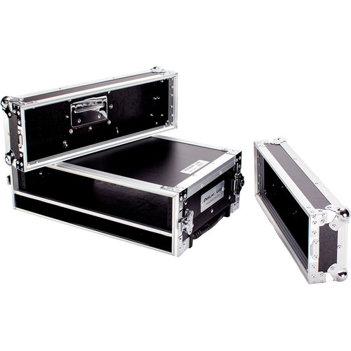 "DeeJay LED 2 RU Effect Deluxe Case with Pull-Out Handle and Wheels (14"" Deep)"