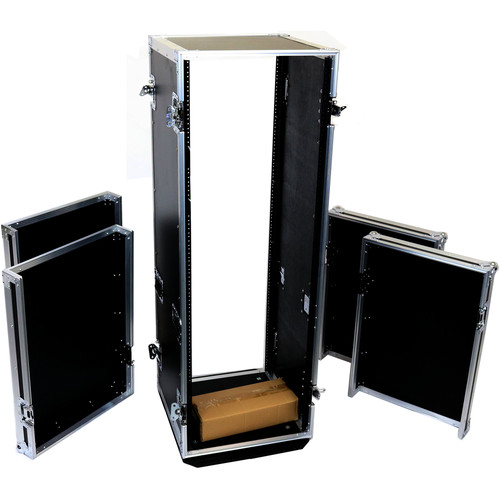"DeeJay LED 33 RU Amplifier Deluxe Case with Wheels (18"" Deep)"