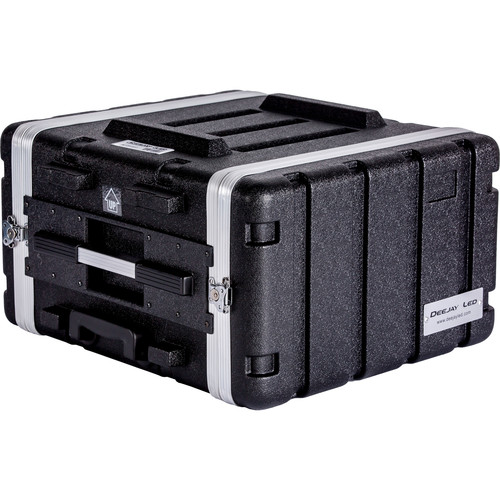DeeJay LED 6 RU ABS Case with Locking Wheels