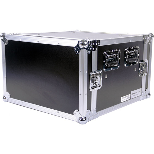 "DeeJay LED 6 RU Shock Mount Amplifier Deluxe Case (21"" Deep)"