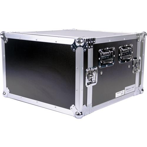 """DeeJay LED 6 RU Shock Mount Amplifier Deluxe Case (21"""" Deep)"""
