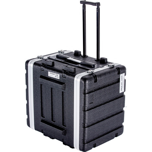 DeeJay LED 8 RU ABS Case with Locking Wheels