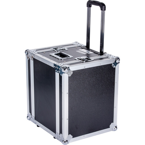 """DeeJay LED 8 RU Effect Deluxe Case with Pull-Out Handle and Wheels (14"""" Deep)"""