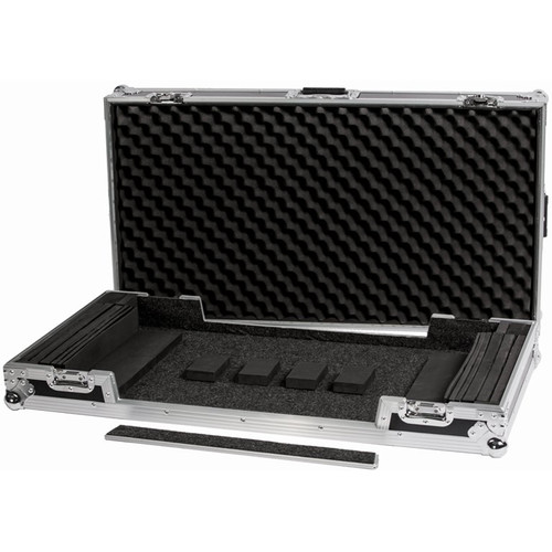 DeeJay LED Universal Fly Drive Case for Very Large Size DJ Controllers w/Wheels