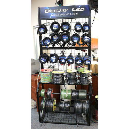 DeeJay LED Cable Stand and Peg Board