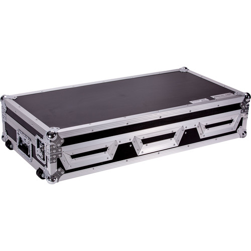 "DeeJay LED Case for Two Pioneer 2-CDJ2000 and 12"" Mixer"