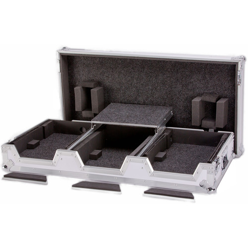 DeeJay LED Fly Drive Case for Two CDJ Multi-Players