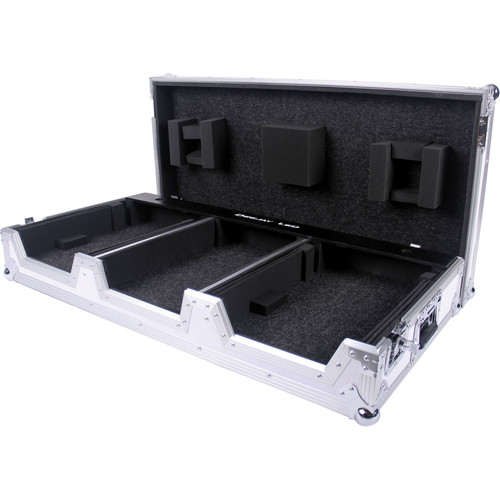 DeeJay LED Case for Pioneer CDJ Multi-Player and DJMS9 Mixer (White)