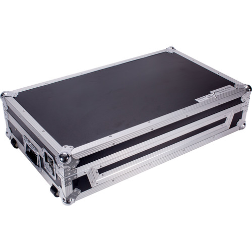 DeeJay LED Flight Case for One Pioneer DDJ SZ SERATO DJ USB Music Controller with Shelf and Wheels