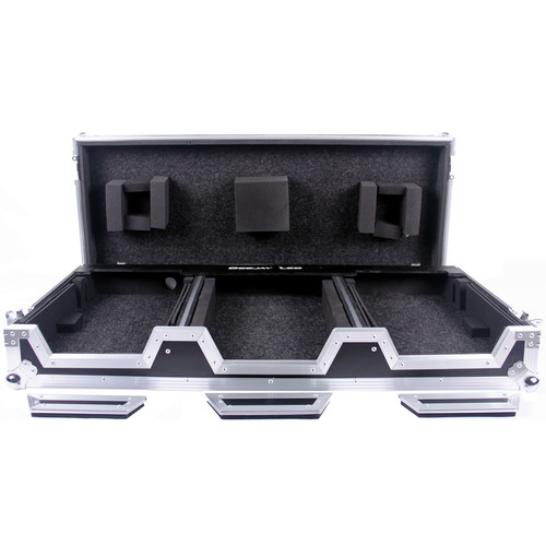 DeeJay LED Case on Wheels for Two Pioneer CDJ2000 and DJM900 Nexus Mixer