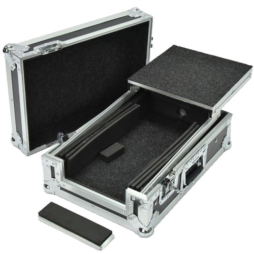 DeeJay LED Fly Drive Case for Pioneer DJM-S9 Mixer with Laptop Shelf