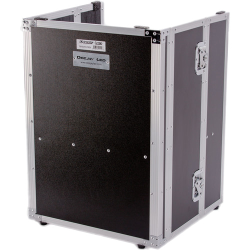 """DeeJay LED DJ Fold Out Stand Fly Drive Series for All Slant Mixer Cases (26"""" Height)"""