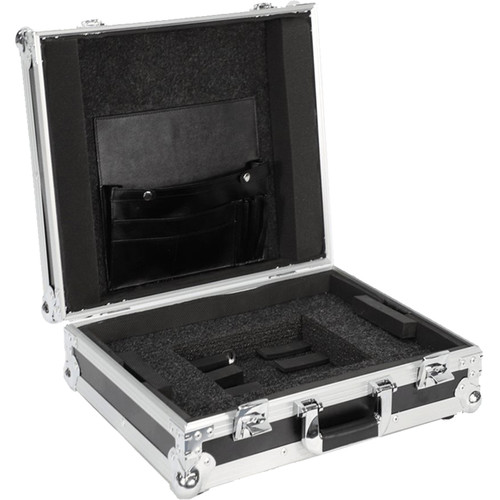 """DeeJay LED Case for 17"""" Laptop and Accessories (Black)"""