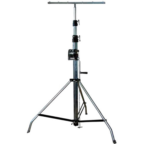 DeeJay LED T-Shaped Heavy Duty Universal Stage Light Stand (165lb Load- 13')