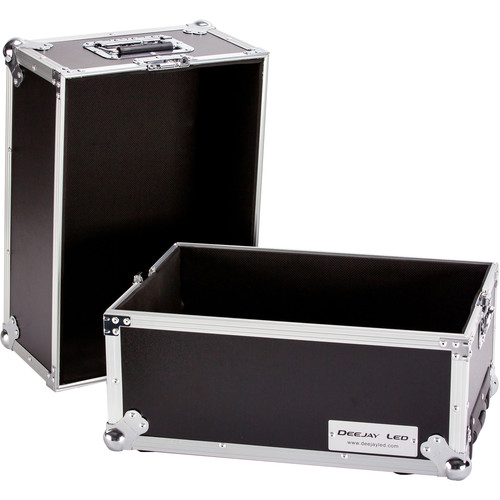 DeeJay LED Medium Case for 100 LPs