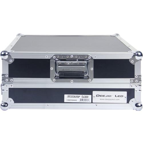 DeeJay LED Fly Drive Case - Slanted 8 RU Mixer Rack
