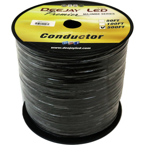 DeeJay LED Twisted RCA Cable Roll (500')