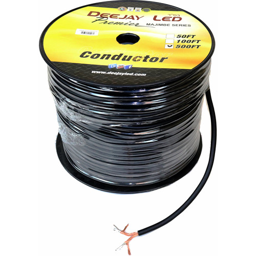 DeeJay LED Shielded RCA Cable Roll (500')