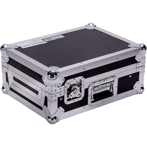 DeeJay LED Case for Rane Sixty-Two and Sixty-Two Z Controller with Laptop Shelf