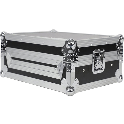 DeeJay LED Fly Drive Case for Roland DJ202 Pro DJ Controller or Similar with Laptop Shelf