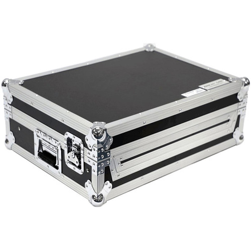 DeeJay LED Fly Drive Case for Roland DJ808 Pro DJ Controller or Similar with Laptop Shelf