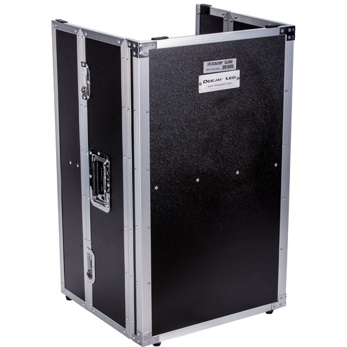 """DeeJay LED DJ Mini Fold Out Stand for Mixer Slant Cases (32"""" High)"""