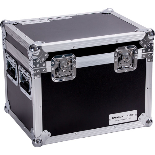 """DeeJay LED Fly Drive Utility Trunk Case with Caster Board (Black, 20 x 16 x 16"""")"""