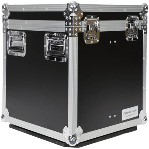 DeeJay LED Fly Drive Case Utility Trunk with Wheels (Black)