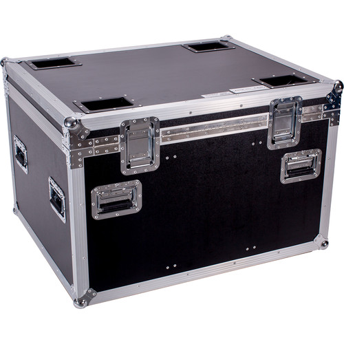 """DeeJay LED Fly Drive Utility Trunk Case with Caster Board (Black, 38 x 31 x 24"""")"""