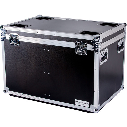 "DeeJay LED Fly Drive Utility Trunk Case with Caster Board (Black, 36 x 24 x 24"")"
