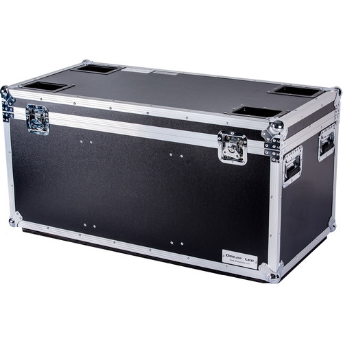 "DeeJay LED Fly Drive Utility Trunk Case with Caster Board (Black, 44 x 23 x 22"")"