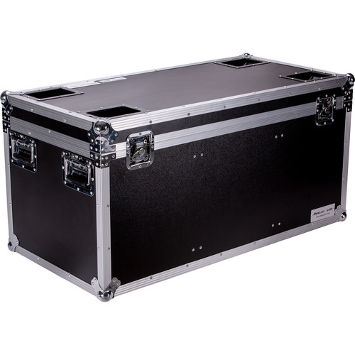 """DeeJay LED Fly Drive Utility Trunk Case with Caster Board (Black, 42 x 25 x 19"""")"""