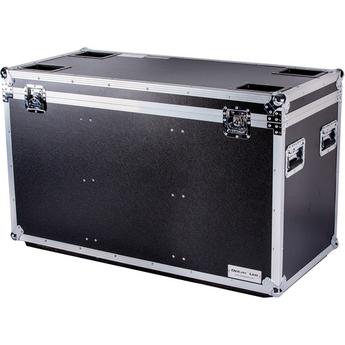 """DeeJay LED Fly Drive Utility Trunk Case with Caster Board (Black, 46 x 21 x 27"""")"""