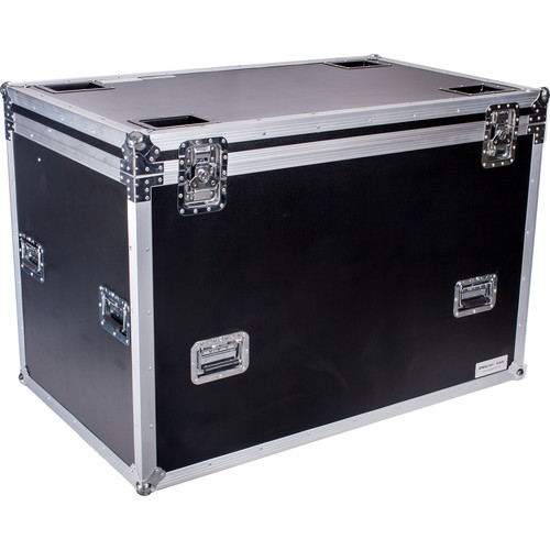 """DeeJay LED Fly Drive Utility Trunk Case with Caster Board (Black, 51 x 35 x 31.5"""")"""