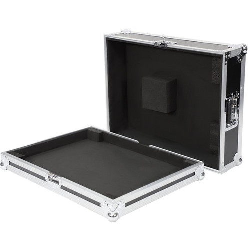 DeeJay LED Fly Drive Case for Behringer X32 Producer Digital Mixer with Wheels (Black)