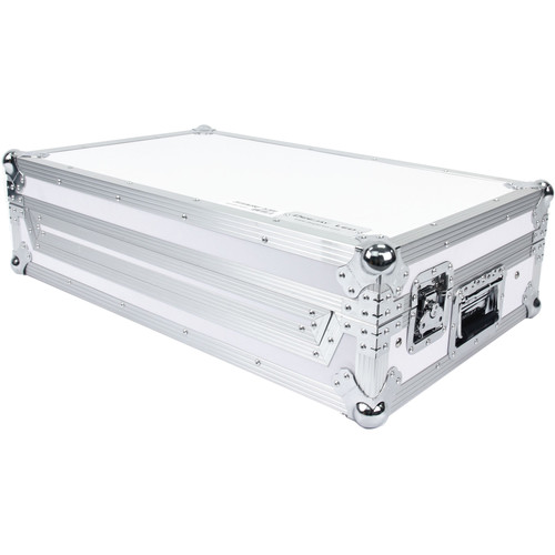 DeeJay LED Fly Drive Case for Pioneer XDJ-RX System with Laptop Shelf (White)