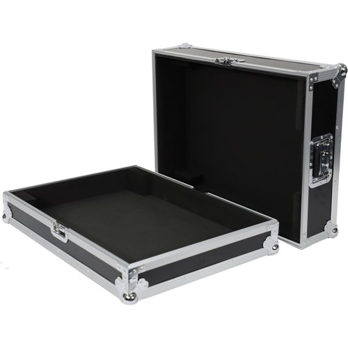 DeeJay LED Fly Drive Case for Yamaha TF1 16 Channel Digital Mixer with Wheels (Black)