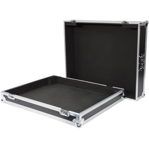 DeeJay LED Fly Drive Case for Yamaha TF5 32 Channel Digital Mixer with Wheels (Black)