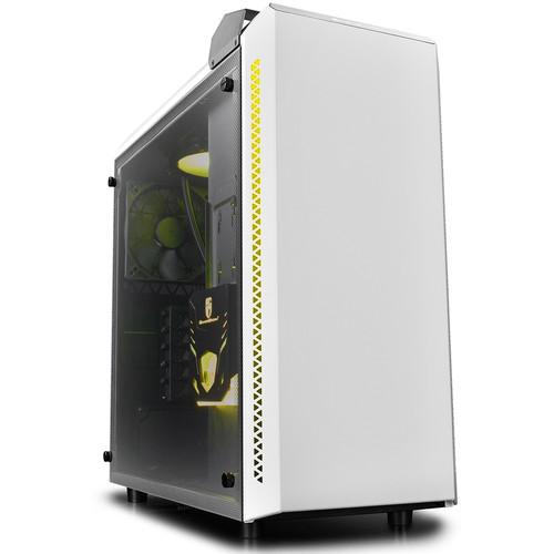 Deepcool Baronkase Liquid Mid-Tower Case (White)