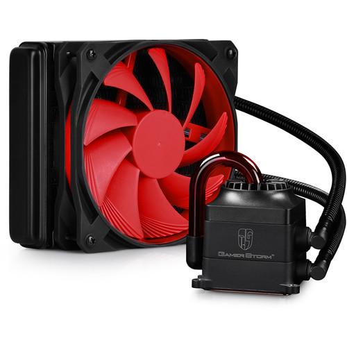 Deepcool Captain 120 Liquid CPU Cooler (Black / Red)