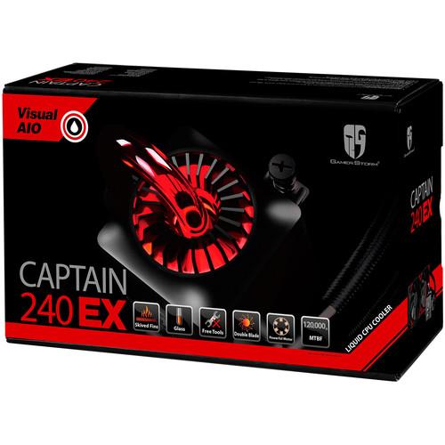 Deepcool Captain 240 EX Liquid CPU Cooler (Black)