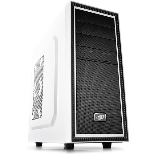 Deepcool Tesseract Mid-Tower Case (Black / White)