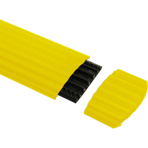 Defender Cable Protection Syst OFFICE ER End Ramp for OFFICE Cable Duct (Yellow)