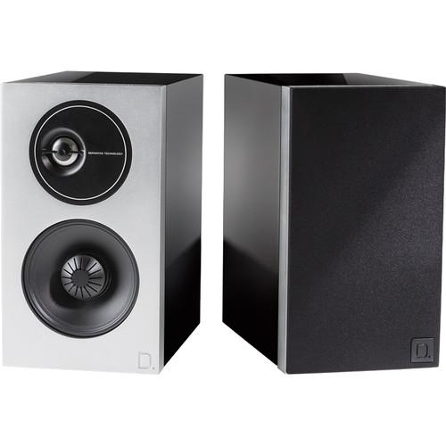 Definitive Technology Demand Series D7 2-Way Bookshelf Speakers (Piano Black, Pair)